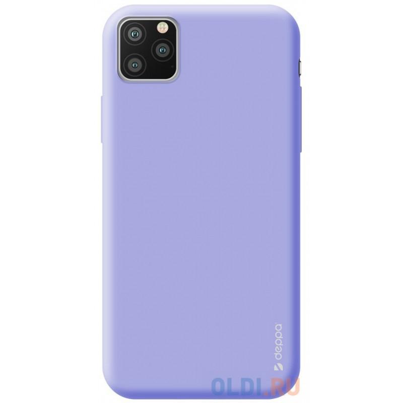 Чехол для смартфона для Apple iPhone 11 Pro Max Deppa Gel Color Case 87250 Violet клип-кейс, полиуретан