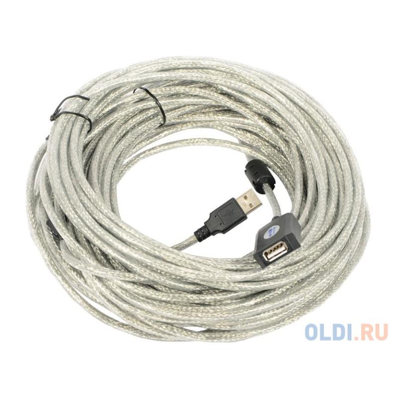 Кабель-адаптер USB2.0-repeater, удлинительный активный <Am--Af 25м VCOM <VUS7049-25M