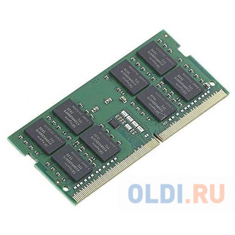 Оперативная память Kingston KVR26S19D8/16 SO-DIMM 16Gb DDR4 PC4-21300 2666MHz