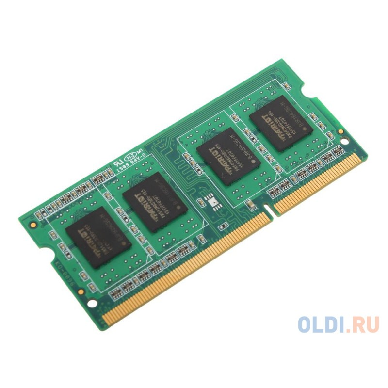 Оперативная память Patriot PSD34G160081S SO-DIMM 4Gb DDR3 PC3-12800 1600MHz