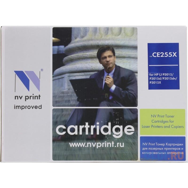 Картридж NV-Print CE255X CE255X CE255X CE255X CE255X 12500стр Черный