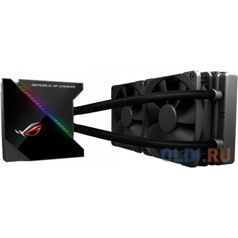 """Система водяного охлаждения процессора ASUS ROG RYUJIN 240 (Intel: LGA 115x,1366, 2011, 2011-3, 2066, AMD: AM4, TR4*, OLED-дисплей 1,77"""", 120 mm вентилятор  Noctua iPPC-2000, 90RC0030-M0UAY0)"""