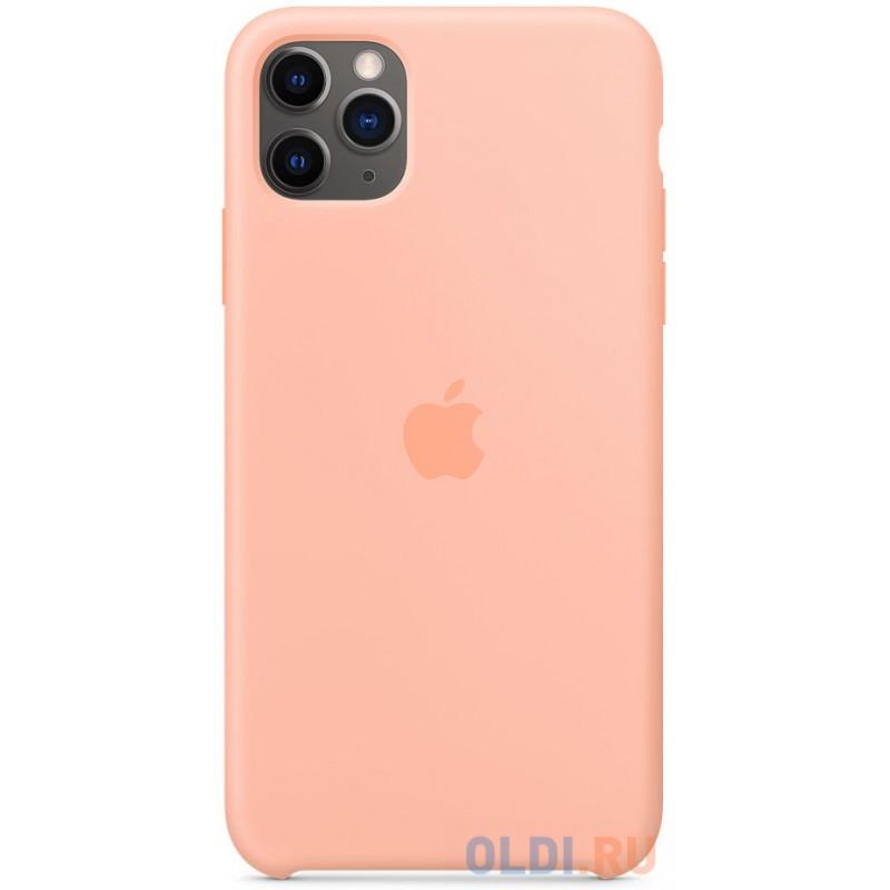 Чехол-накладка Apple MY1H2ZM/A для iPhone 11 Pro Max розовый грейпфрут