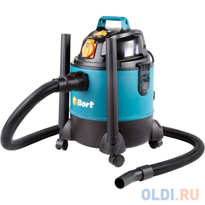 Пылесос Bort BSS-1220-Pro Черный/синий