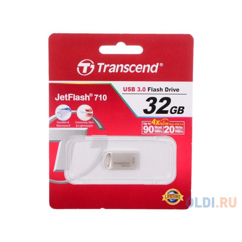 Внешний накопитель 32GB USB Drive <USB 3.0 Transcend 710S (TS32GJF710S)