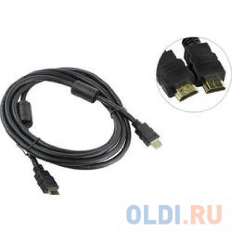 Кабель HDMI 19M/M ver 2.0, 7.5М, 2 фильтра  Aopen <ACG711D-7.5M