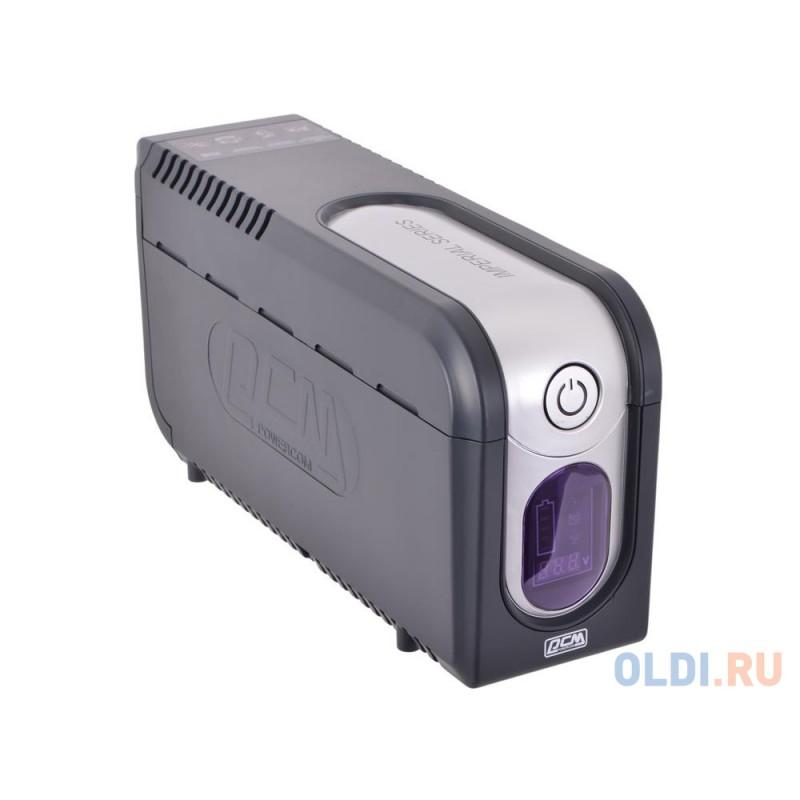 ИБП Powercom IMD-625AP Imperial 625VA/375W Display,USB,AVR,RJ11,RJ45 (3+2 IEC)