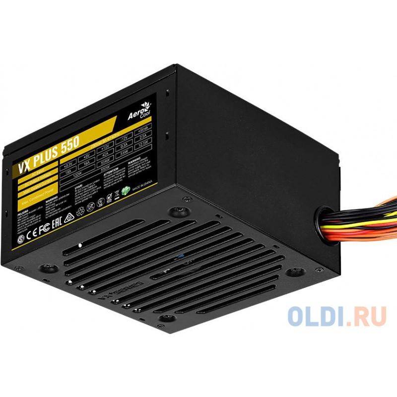 VX Plus 550 550W , ATX v2.3 , Fan 12cm , 500mm cable , Retail