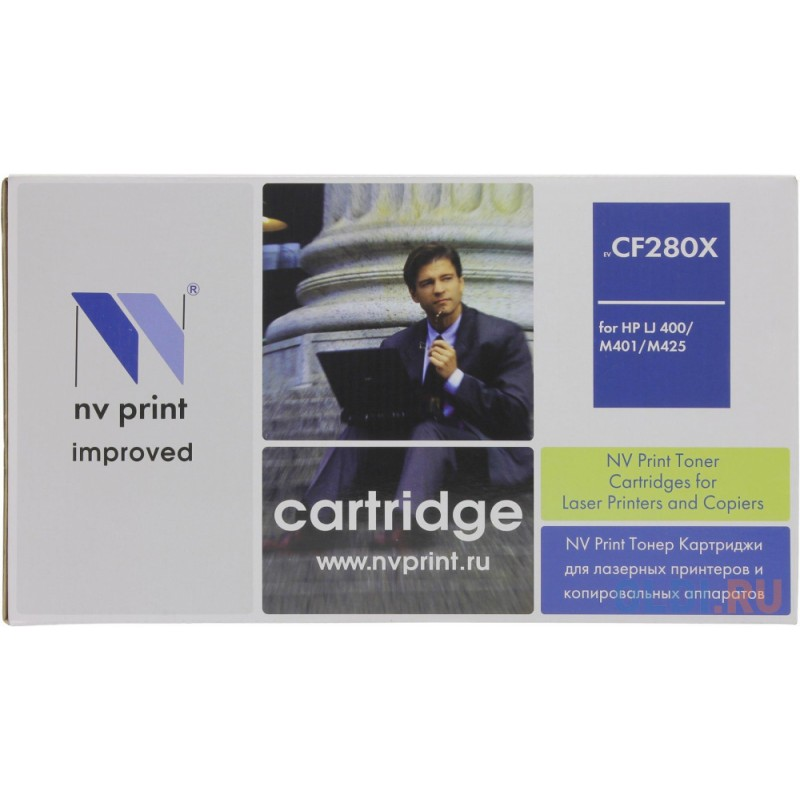 Картридж NV-Print CF280X CF280X CF280X CF280X CF280X 6500стр Черный