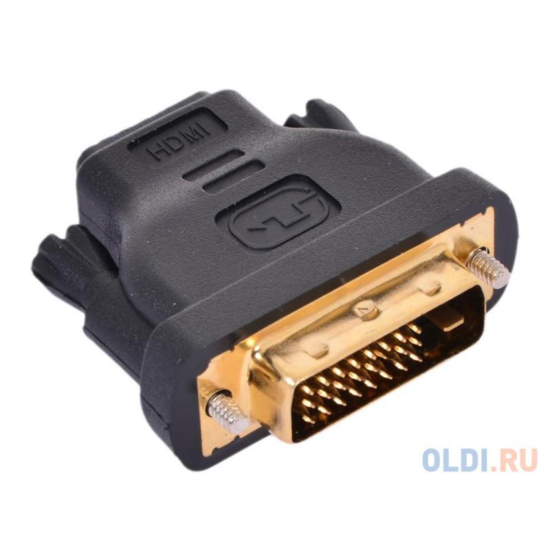 Переходник VCOM HDMI 19F to DVI-D 25M позолоченные контакты <VAD7818