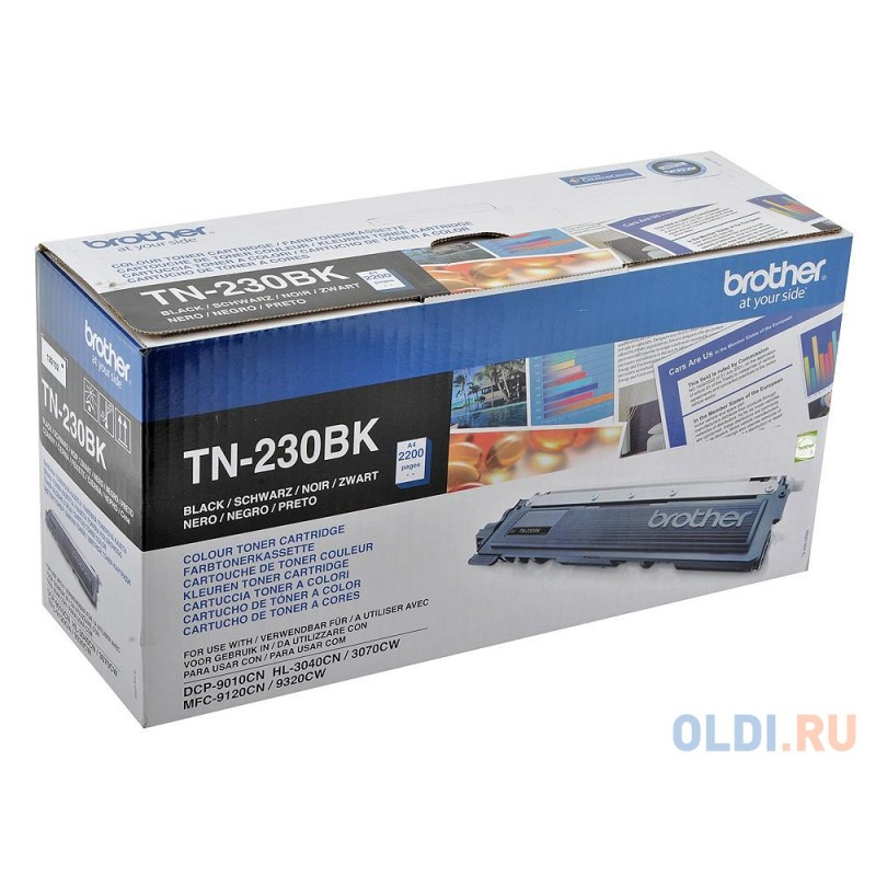 Картридж Brother TN-230BK 2200стр Черный