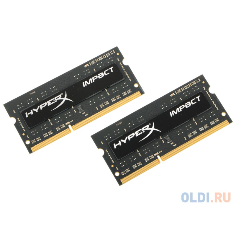 Оперативная память Kingston HX318LS11IBK2/8 SO-DIMM 8Gb DDR3 1866MHz