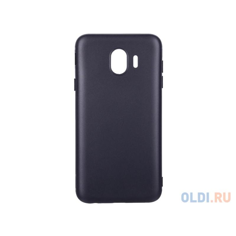 Чехол защитный BoraSCO Mate для Samsung Galaxy J4, черный матовый