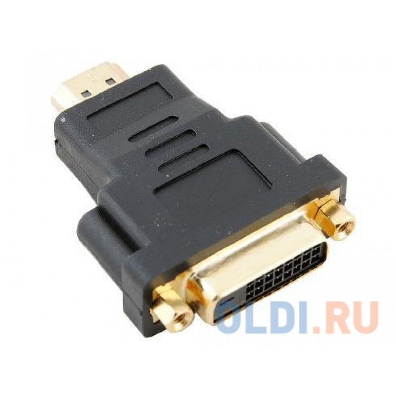 Переходник HDMI 19M - DVI-D 25F VCOM <VAD7819  позолоченные контакты