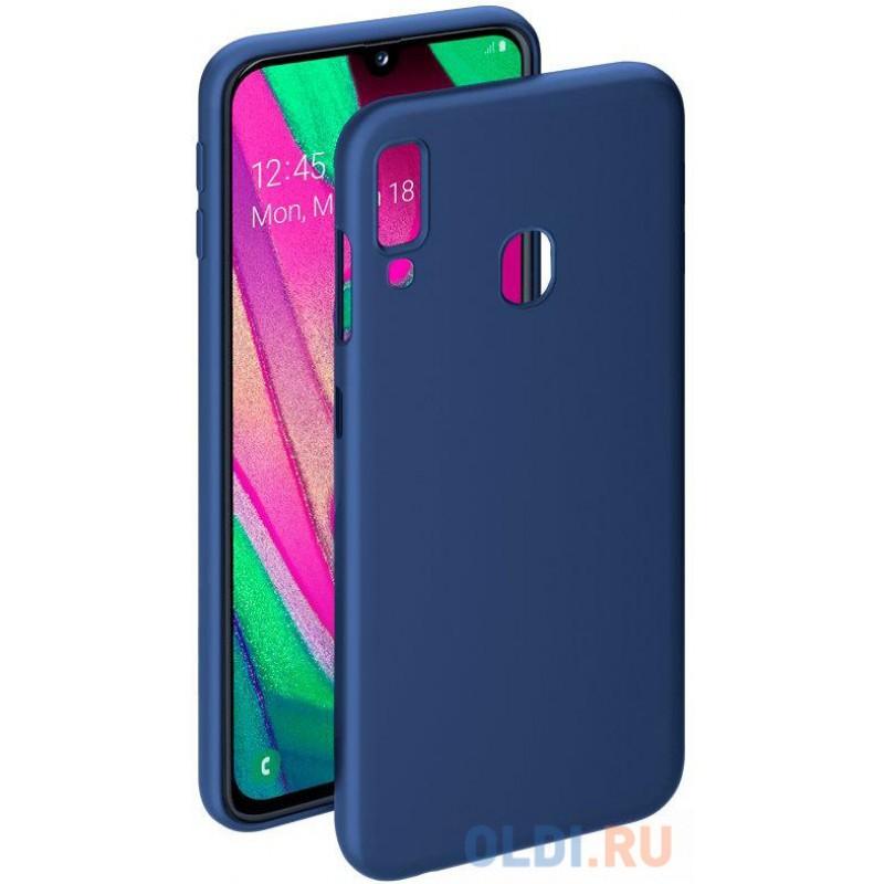 Чехол Deppa Gel Color Case для Samsung Galaxy A40 (2019), синий