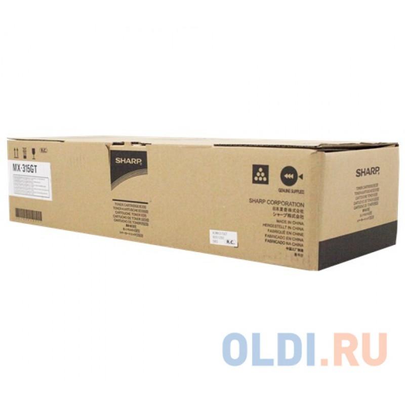 Картридж Sharp MX315GT 27500стр Черный
