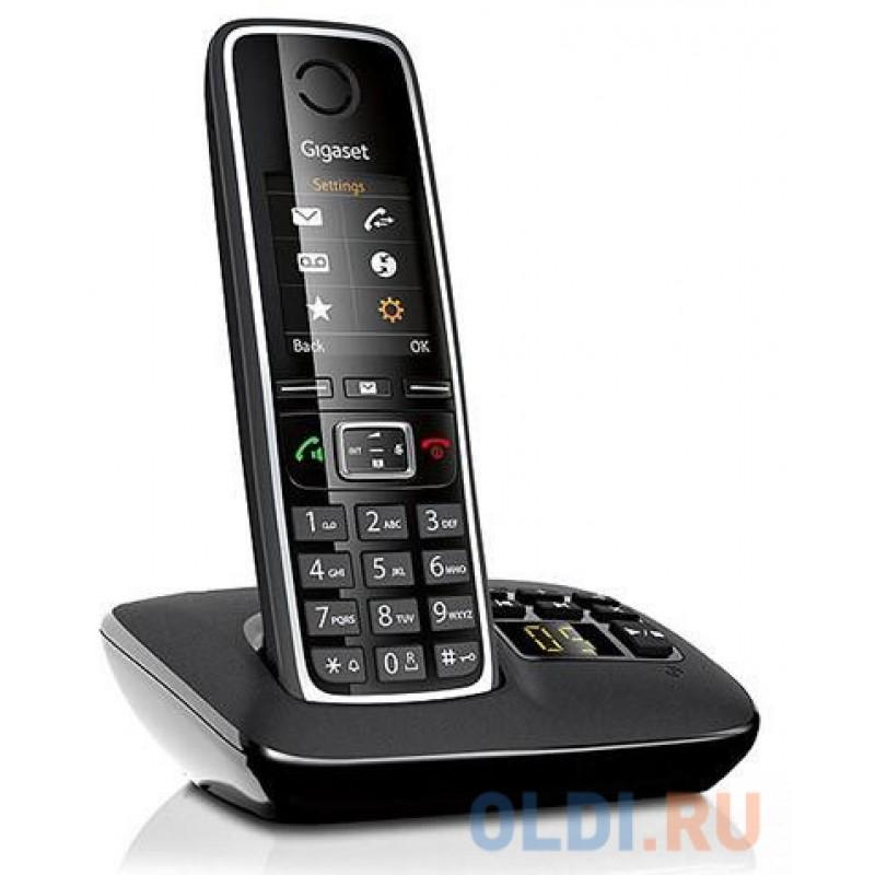 Радиотелефон DECT Gigaset C530 A черный