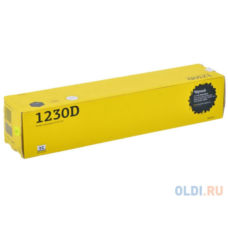 Тонер T2 TC-R1230 Black для Ricoh Aficio 2015/ 2016/ 2018/ 2020/ MP1500/ 1600/ 2000 (9000 стр.) (аналог Type 1230D)