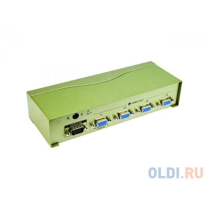 Разветвитель VGA 1 to 4 VS-94A Vpro mod:DD124 350MHz VCOM <VDS8016