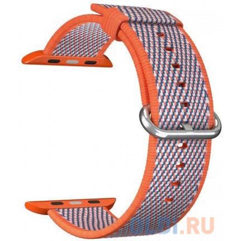 Ремешок Lyambda Polis для Apple Watch оранжевый DSN-02-01A-44-OR