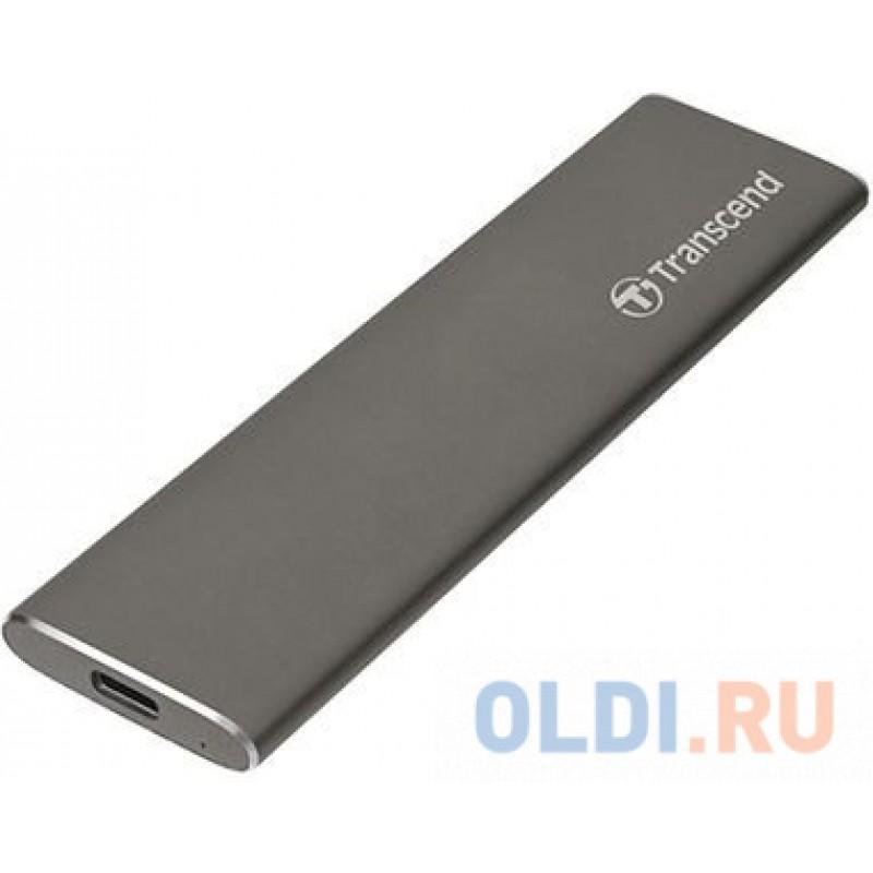 Флеш-накопитель Transcend Внешний твердотельный накопитель External SSD Transcend 960Gb, USB 3.1 Gen 1, Type C