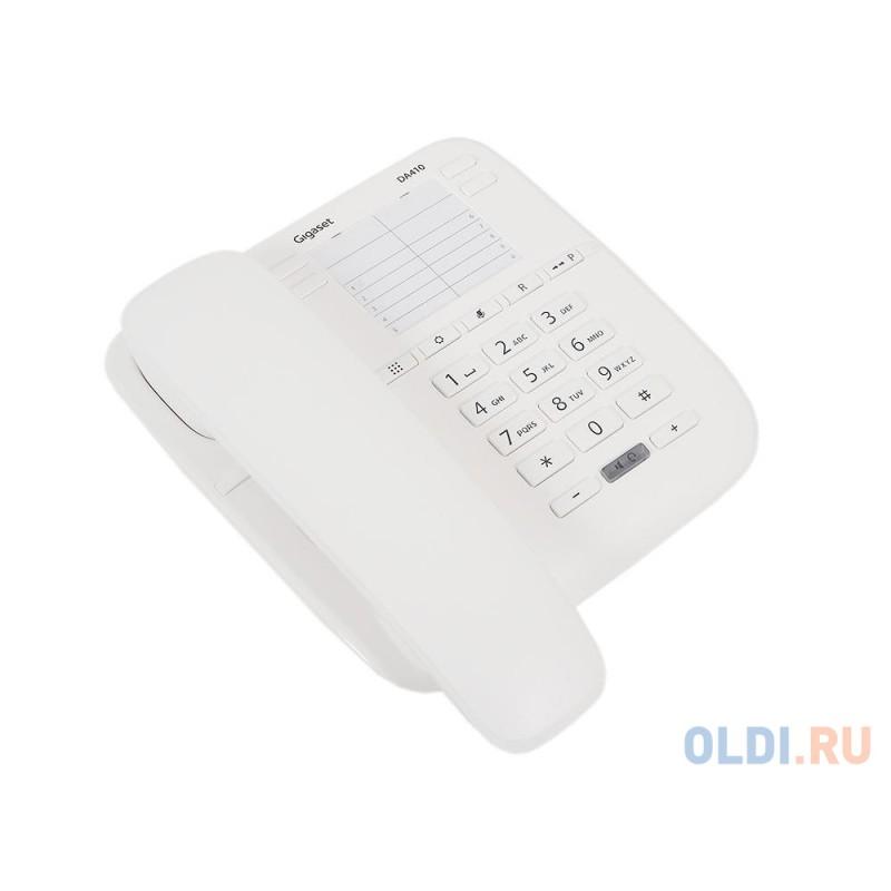 Телефон Gigaset DA410 белый