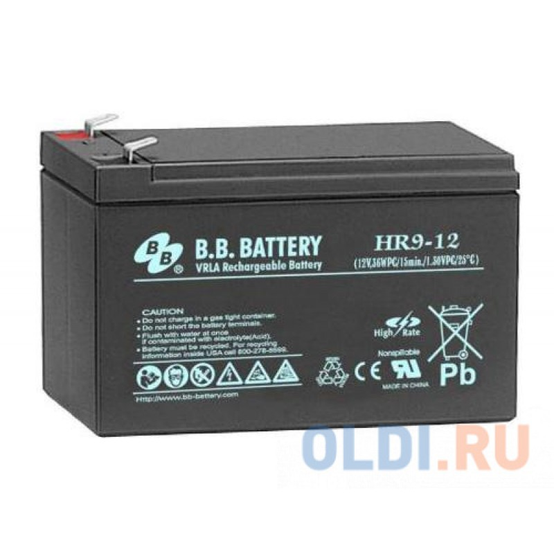 Батарея B.B. Battery HR9-12 9Ач 12B