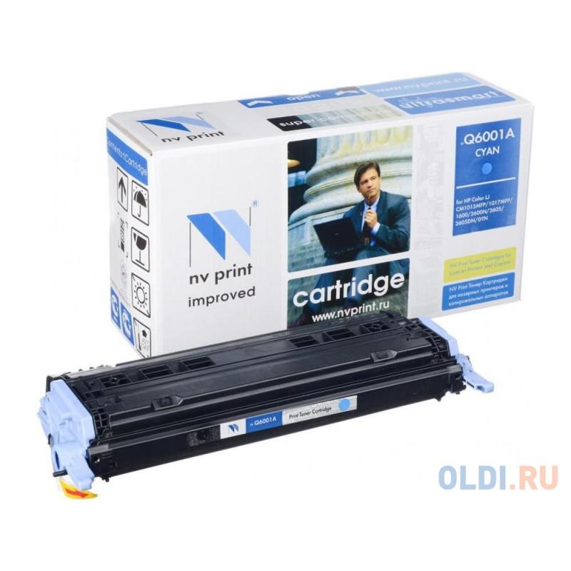 Картридж NV-Print Q6001A Q6001A Q6001A Q6001A Q6001A 2000стр Голубой