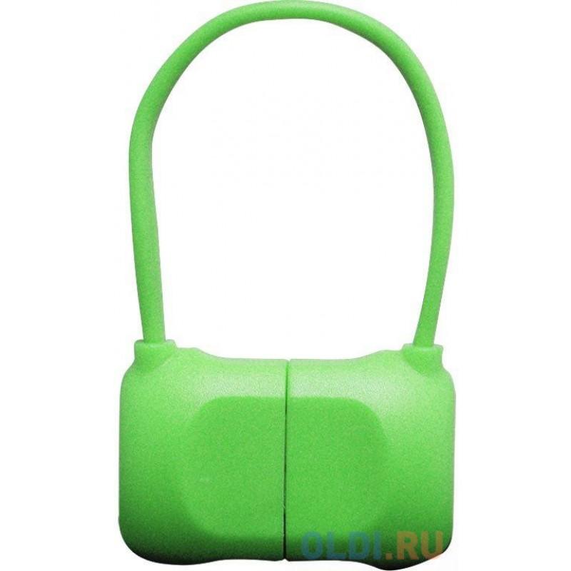 Переходник Lightning 0.1м PQI PQI-iCABLE-BAG-GN круглый зеленый