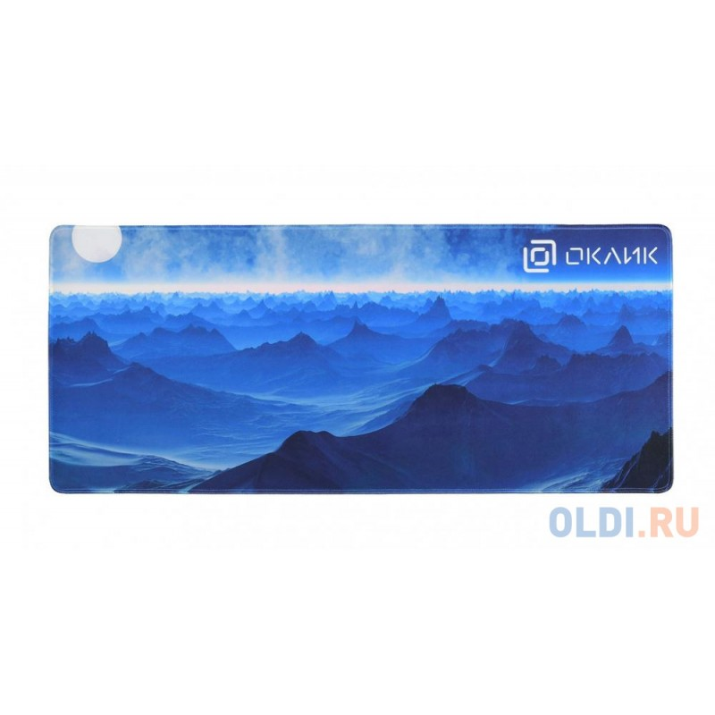 Коврик для мыши Oklick OK-FP0700 темно-синий