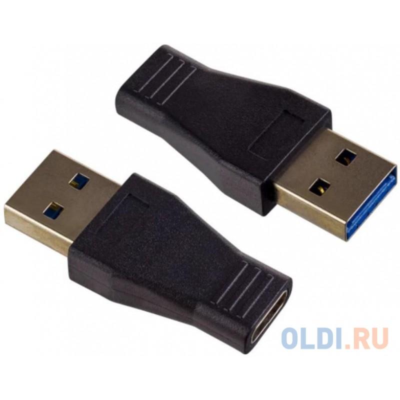 PERFEO Переходник USB3.0 A вилка - USB Type-C розетка (A7021)