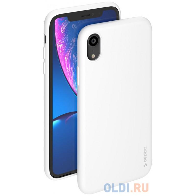 Чехол Deppa Gel Color Case для Apple iPhone XR, белый