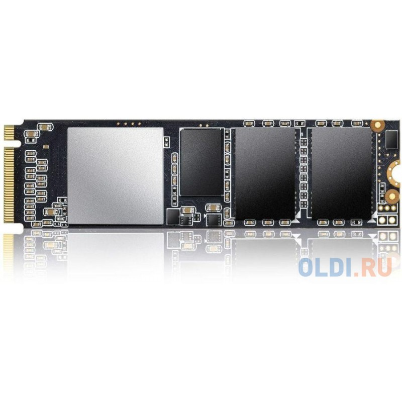 Твердотельный накопитель SSD M.2 512 Gb A-Data ASX6000PNP-512GT-C Read 2100Mb/s Write 1400Mb/s TLC