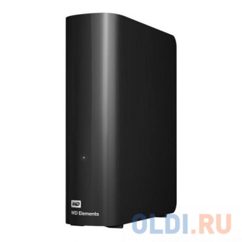 Внешний жёсткий диск 8Tb WD WDBWLG0080HBK-EESN Elements Desktop <3.5