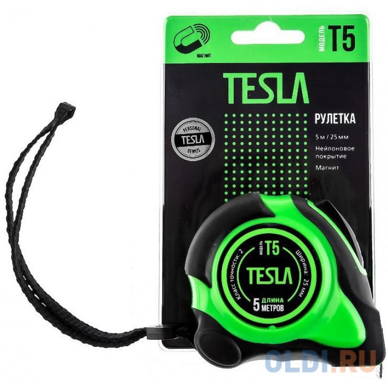 Рулетка Tesla T-5 5мx25мм