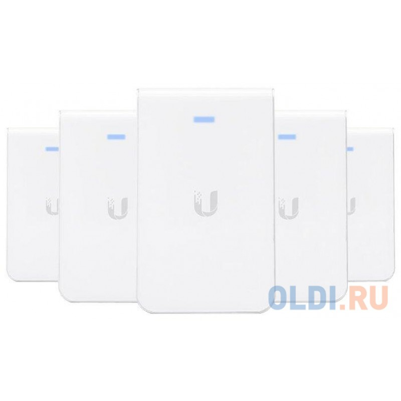 Точка доступа Ubiquiti  UAP-AC-IW-5 UniFi AP, AC, In Wall, 5-Pack