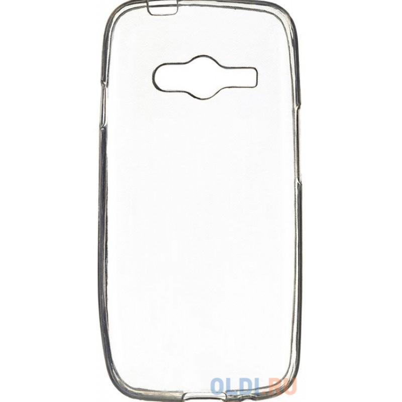 Чехол силикон iBox Crystal для Samsung G313 Galaxy Ace 4 (прозрачный)