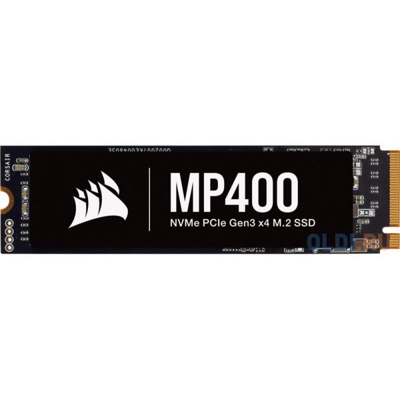 M.2 2280 2TB Corsair MP400 Client SSD CSSD-F2000GBMP400 PCIe Gen3x4 with NVMe, 3480/3000, IOPS 380/560K, MTBF 1.8M, 3D QLC, 400TBW, 0.11DWPD, Heatsink, RTL