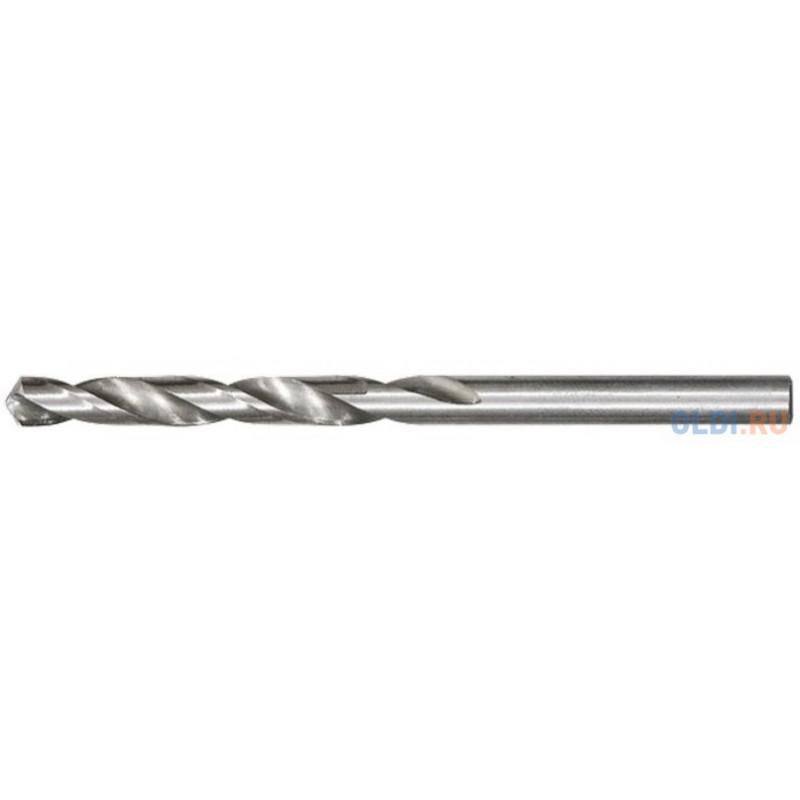 Сверло по металлу, 9,5 мм, полированное, HSS, 10 шт. цилиндрический хвостовик// Matrix