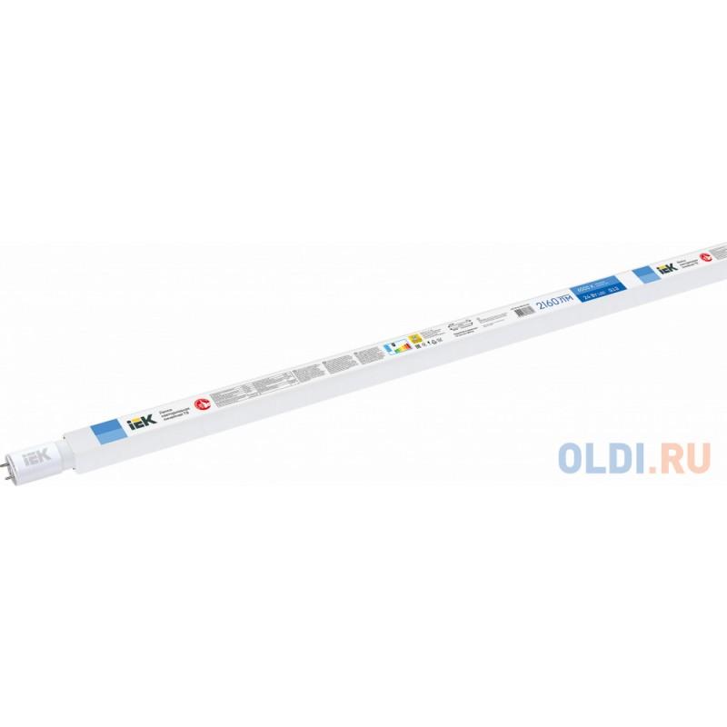 Iek LLE-T8-24-230-65-G13 Лампа светодиодная T8 линейная 24Вт 230В 6500К G13 (аналог люм.лампы 58Вт)