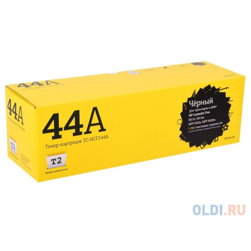Картридж T2 TC-HCF244A для HP LJ Pro M15a/M15w/M28a/M28nw (1000 стр.) с чипом(CF244A)