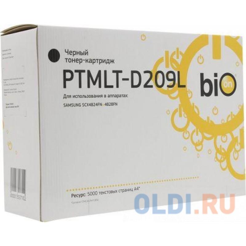 Bion MLT-D209L / PTMLT-D209L  Картридж  для Samsung ML-2855ND/SCX-4824FN/4828FN, 5000стр   [Бион]