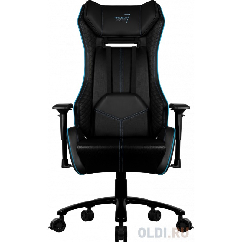 Игровое кресло Aerocool P7-GC1 AIR, черное, с перфорацией, до 150 кг, размер, см (78 x 79 x 133-141 см )