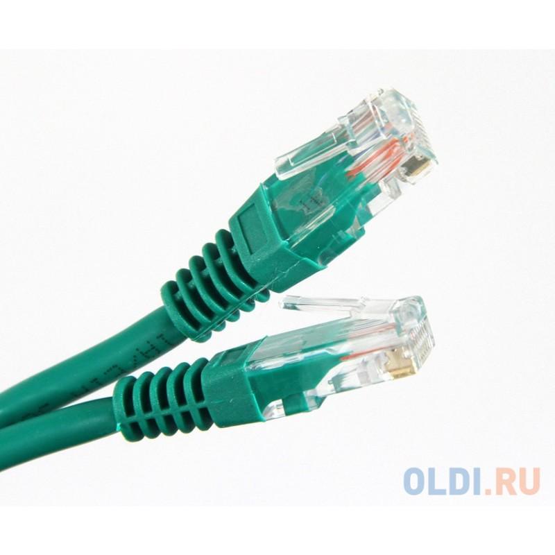 Патч-корд литой Aopen/Qust UTP кат.5е 2м зеленый <ANP511_2M_G>