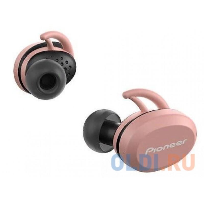 Гарнитура вкладыши Pioneer SE-E8TW-P розовый/черный беспроводные bluetooth (в ушной раковине)