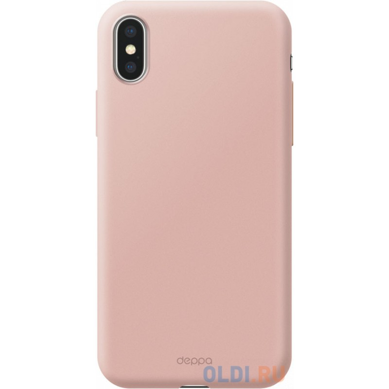 Чехол Deppa Air Case для Apple iPhone X/XS,  розовое золото