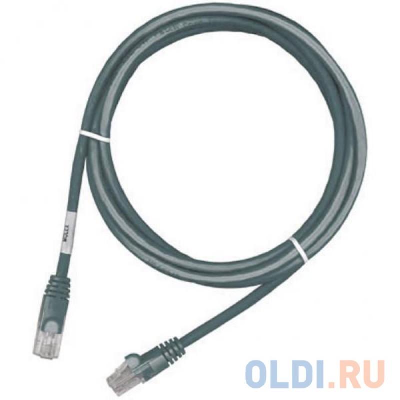 Кабель Патч-корд Molex UTP PCD-02001-0E вилка RJ-45-вилка RJ-45 кат.6 1м серый LS0H (уп.:1шт)