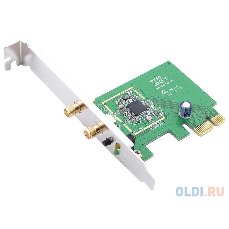 Беспроводная сетевая карта ASUS PCE-N15 Беспроводной адаптер Wi-Fi с интерфейсом PCI Express 300Mbps