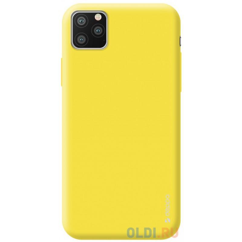 Чехол для смартфона для Apple iPhone 11 Pro Deppa Gel Color Case 87239 Yellow клип-кейс, полиуретан