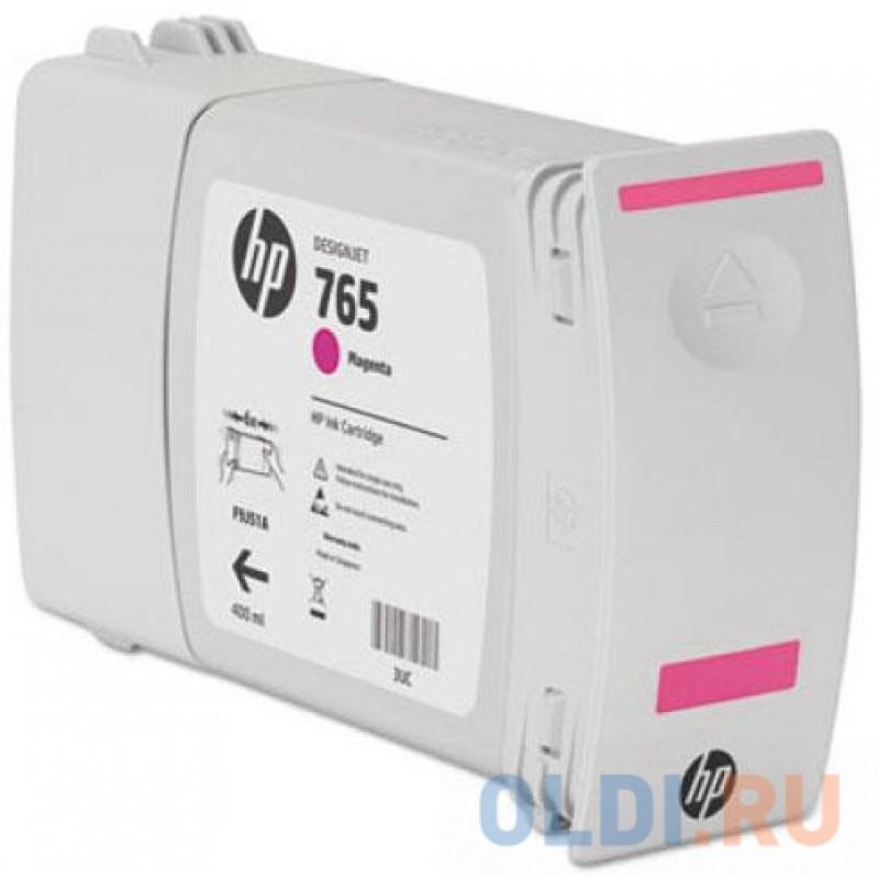 Картридж HP F9J51A №765 для HP Designjet T7200 пурпурный 400мл
